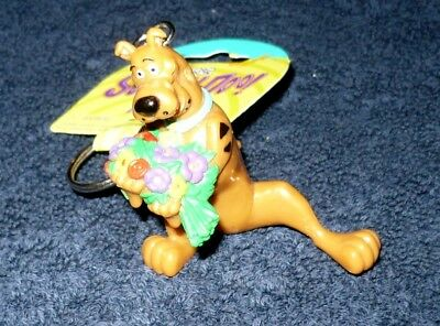 New Collectible Scooby-Doo Flowers Cartoon Network Key Ring
