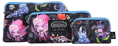 Ju Ju Be World of Warcraft X Be Set Cute But Deadly 3 Bags Pouch Set Baglet NEW