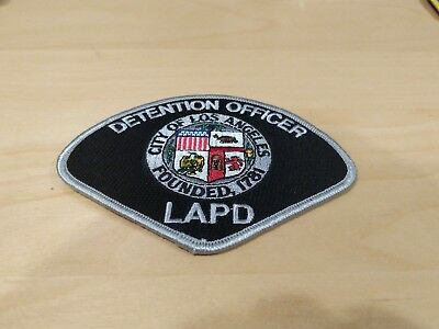 LAPD Detention Officer Patch New