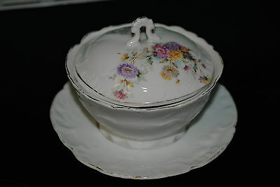 Ancien Sucrier En Porcelaine - Old Porcelain Sugar Bowl