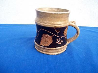 """Left Handed Russell Henry   """"woodcut"""" Green Briar  Cup 1983"""