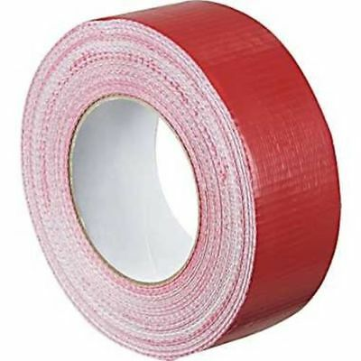 1x Duck RED strong Duct Gaffa Gaffer Waterproof Cloth Tape 48mm 2'' 50m