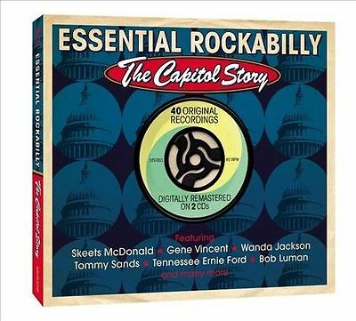 Essential Rockabilly: The Capitol Story by Various Artists (CD, Jan-2013, 2...