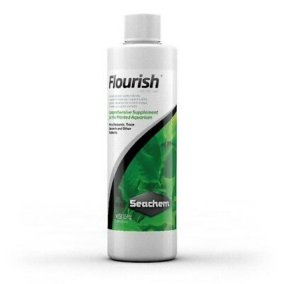 Seachem Flourish Liquid Fertiliser For Plants Planted Aquarium Use With Carbon