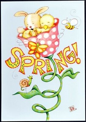 Mary Engelbreit Greeting Card - Spring has Sprung, Happy Easter