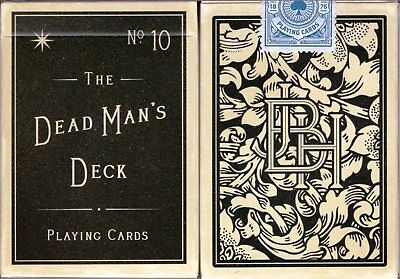 The Dead Man's Deck Playing Cards Poker Size EPCC Custom Limited Edition New