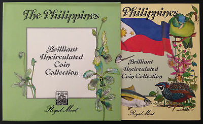 E505 Philippines 1983 Royal Mint Brilliant Uncirculated Coin Collection