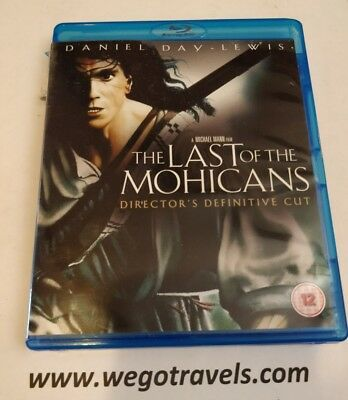 The Last of the Mohicans Blu-ray New - Free Shipping READ DESC