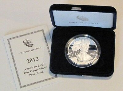 2012 American Eagle Silver Proof - 1 ounce