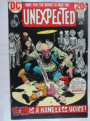 Unexpected #143   High Grade VF/NM   Fear Is A Nameless Voice   Nick Cardy