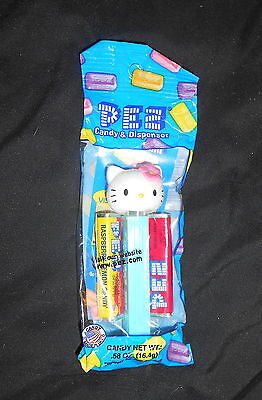 Collectible Hello Kitty Pez Dispenser & Candy - New In Package (Pink Bow)