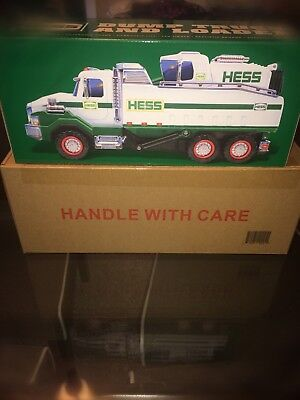 2017 HESS DUMP TRUCK AND LOADER BRAND NEW IN BOX ... Sold Out In Stores!