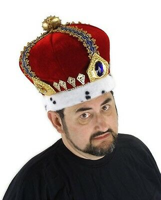 Royal King Adult Costume Crown Hat By Elope