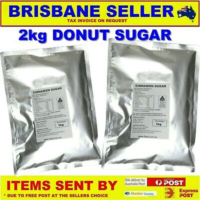 Donut Sugar & Cinnamon 3Kg Pack Just Like In The Shops Not You Normal Mix 1