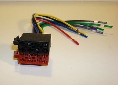 PHASE LINEAR  UV8020 AM/FM CD/DVD Screen Wire Harness Plug  NEW