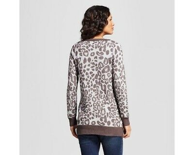NEW Maternity Leopard Print Sweater - Isabel Maternity by Ingrid & Isabel  Gra