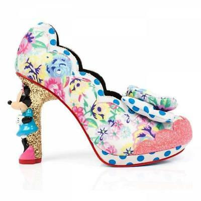 Irregular Choice Disney Sherbert Ice Cream Minnie Mouse Character Heels Shoes