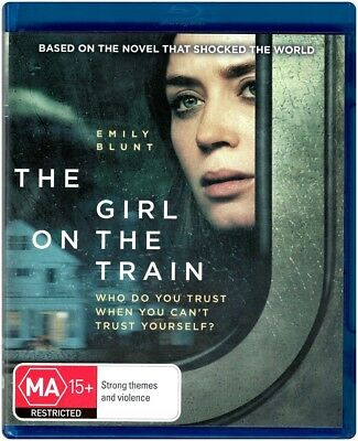 """THE GIRL ON THE TRAIN"" Blu-ray - Region [B] NEW"