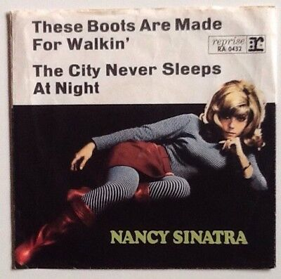 Nancy Sinatra - These Boots Are Made For Walkin' 7'' Reprise Single