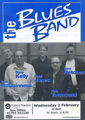 THE BLUES BAND PAUL JONES Theatre Flyer 2011 Tour Handbill