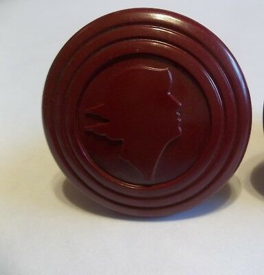 1 Vintage Speed Queen Wringer Washer Washing Machine Mercury Head Knob