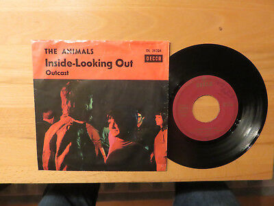 BEAT - SINGLE      THE  ANIMALS   Inside - looking out     mit  Original - Cover