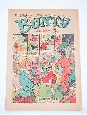 Vintage Bunty Comic No.1043 January 7th, 1978 – 40 years old! Top Birthday Gift!