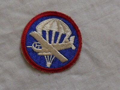 Airborne Ww2  Us Army Enlisted Overeas Hat Patch Red,white,blue