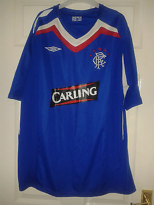 22 X Mens Football Shirt - Glasgow Rangers - Home Away Third 2001-13 Long Sleeve