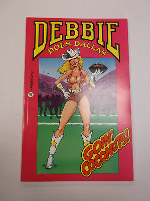 1992 Aircel Comics Debbie Does Dallas Goin' Coconuts! TPB Trade Adults Only
