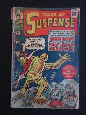 Tales of Suspense #44 MARVEL 1963 - original Iron Man costume - Stan Lee!!!!