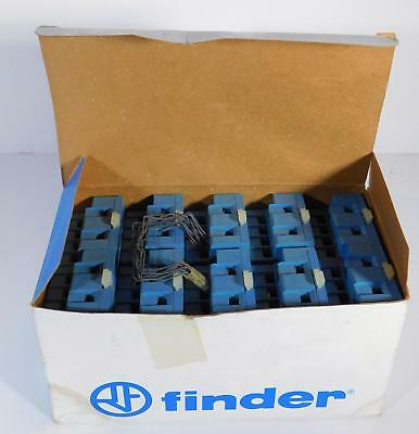 10 each Finder 9674 / 96.74 Socket for Screw Term Socket 15A 250V NOS NIB