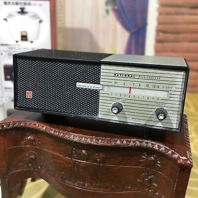 Bandai MINIATURE NATIONAL PANASONIC RADIO Collector/ Dollhouse Cigarettes