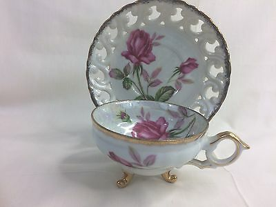 Vintage TEACUP & SAUCER by Cherry China, Japan