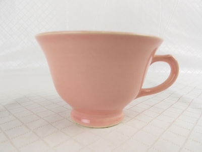 Vintage LuRay Pastels Footed Cup 543 TS&T Taylor Smith & T Pink #3302