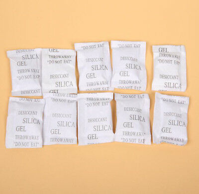 Lot Silica Gel Desiccant 1g Packet Sachets Household Costume Moisture Absorbent