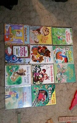11 Little Golden Books Classic Stories Tawny Scrawny The Three Bears Scuffy