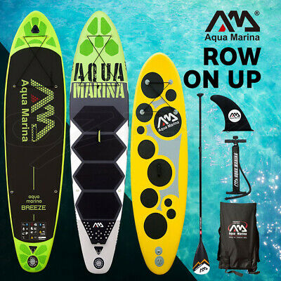 Aqua Marina Stand Up Paddle SUP Inflatable Board Kayak SurfBoard