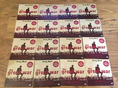 THE GREAT WAR BBC FROM 26 PARTS ON 19 DVDS 1964 Set World Promo WWI