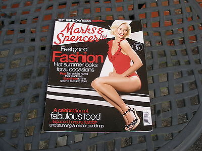 Collectable 125Th Birthday Issue 2009 Marks And Spencer Ltd M&s Magazine