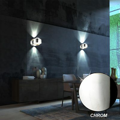 led wand strahler esszimmer decken spot lampen pendel h nge leuchten beweglich eur 22 90. Black Bedroom Furniture Sets. Home Design Ideas
