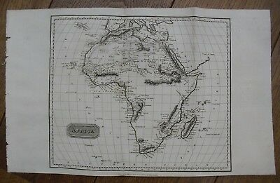 1817, AFRICA, Thomas Kelly & Alexander Findlay, Watermark Provenance