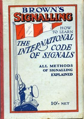Brown's Signalling - 1933 - Extremely Scarce Ref: Sig 46