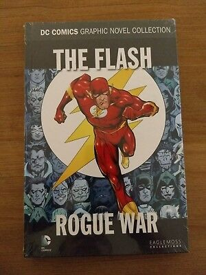 The flash - Rogue War **Brand New & Sealed** Eaglemoss Hardback