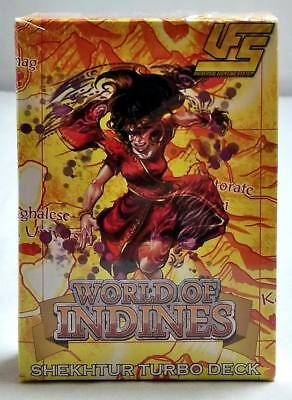 SHEKHTUR TURBO DECK World of Indines UFS Universal Fighting System 60-Card NEW