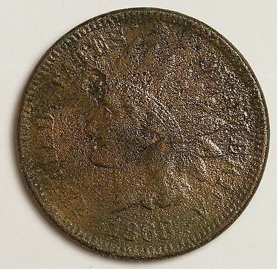 1868 Indian Head Cent.  Fine Detail.  103418