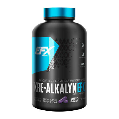 All American EFX - Kre-Alkalyn EFX, 750mg 240 caps - CREATINA