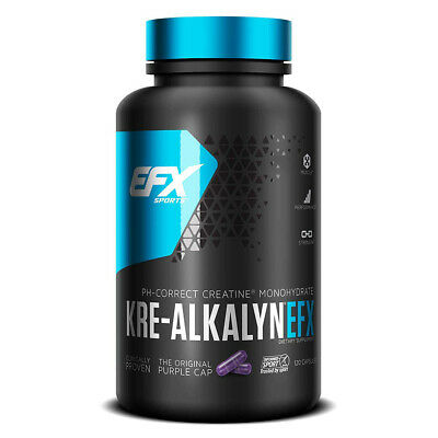 All American EFX - Kre-Alkalyn EFX, 750mg 120 caps - CREATINA