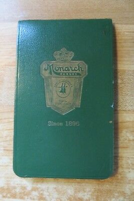 1951 vtg advertising pad,Monarch-Paramount,Malleable Iron Range Co,Beaver Dam WI