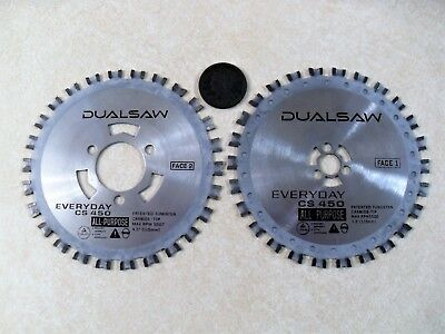 DualSaw Everyday CS450 All Purpose OEM Carbide Replacement Blade Set Dual Saw